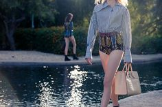 Hotpants are back. Let's hope your mom kept hers from the 80's.  http://www.thecoveteur.com/louis-vuitton-cruise-2015/