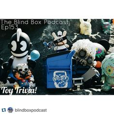 OMG listening to trivia episode and crying  #Repost @blindboxpodcast with @repostapp.  Now on BlindBoxPodcast.com and iTunes New episode of The Blind Box!! This time? Toy trivia with @tenacioustoys @suburbanvinyl @Strangecattoys & @TheToyChronicle!! #iTunes #Podcasts #Podcasts #Art #Artist #Toystagram #Vinyl #Vinyltoys #Kidrobot #Funko #Game #Games #Follow #Like #InstaDaily #Instagood #PhotooftheDay #Instalike #Fun #Toy #Toys #Design #Designer #BlindBoxPodcast #NotYou #IAMNY