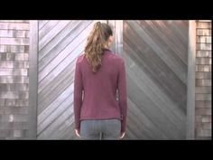 360º of Anhinga 2, a free sweater knitting pattern knit in Berroco Maya. Download the pattern here: http://berroco.com/patterns/anhinga-2