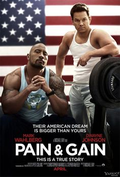 Dwayne Johnson and Mark Wahlberg #PainandGain