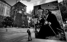 Salvador Dali - Exposición de fotografías de fotógrafo checo Vaclav Chochola