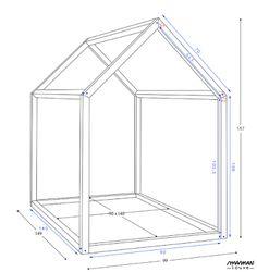 Fabrication d'un lit cabane sur mesure pour mon petit-fils.