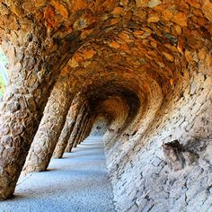 Parc Guell, Barcelona. Photo courtesy of opentheglobe on Instagram.