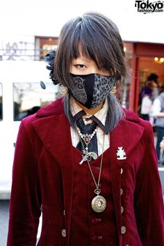Harajuku Gothic Style w/ Mask, Atelier Boz & Alchemy Gothic