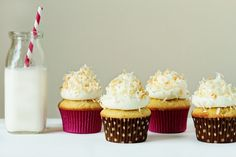 Lime-Coconut Cupcakes | My Baking Addiction