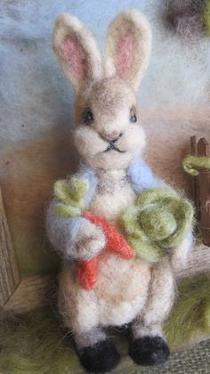 felted peter rabbit naturecrafter - Google Search