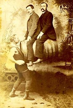 Ever been into a sideshow? A circus sideshow is most likely a freak show, showing death defying stunts, unusual