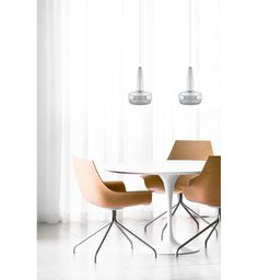 Umage - - Clava Polished Steel Pendant with White Cord Set and White Canopy Room Interior Design, Dining Room Design, Dining Area, Furniture Decor, Furniture Design, Suspension Design, Luminaire Design, Deco Table, Dining Rooms