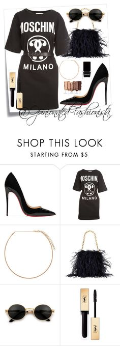 A fashion look from December 2017 featuring Moschino, black slip-on shoes and man bag. Browse and shop related looks. Urban Decay, Moschino, Yves Saint Laurent, Tory Burch, Christian Louboutin, Ootd, Shoe Bag, Polyvore, Stuff To Buy