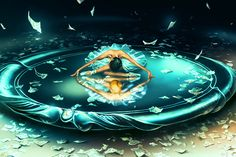 """GEMINI from the Dancing Zodiac by French Artist Cyril Rolando (""""AquaSixio"""") on Deviant Art. """"The Twins"""". May 21 - June Zodiac Art, Gemini Zodiac, Zodiac Signs, Gemini Art, Gemini Woman, Cyril Rolando, Gemini Wallpaper, Mac Wallpaper, Computer Drawing"""