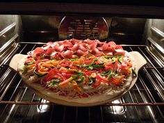 Home made pizza using Publix fresh pizza dough...better than any pizzeria pizza, hands down!