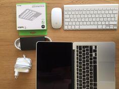 """FINN – 13"""" MacBookPro i5, Retina, 16 GB, med Apple tastatur/mus/keypad"""