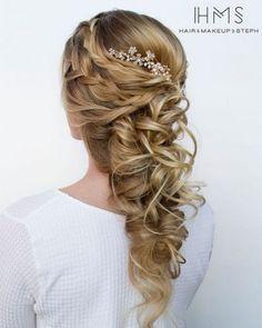 HMS Long Wedding Hairstyles  1   Deer Pearl Flowers