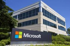 Microsoft Corporation (MSFT) Adds Fun To Its Sales Process Acquiring FantasySalesTeam // A building on the Microsoft Headquarters campus is pictured July 17, 2014 in Redmond, Washington. (Stephen Brashear/Getty Images)