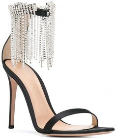 84506b424fe7 black high heels for prom  Stilettoheels Black Crystals