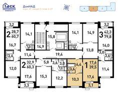 Продажа 1-комнатной квартиры в ЖК «Некрасовка» корп.4г эт.2 №198 в Москва, ЮВАО по ценам застройщика