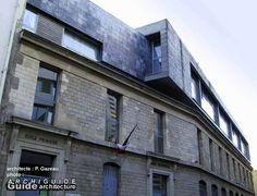 Gazeau - surélévation d'une école Paris 20