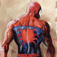 Spider-Man by Mike Deodato Jr.