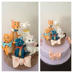 The Aristocats Disney cake