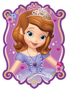 A Princesa Sofia 3 - Cia dos Gifs Princess Sofia Birthday, Princess Sofia The First, Sofia The First Birthday Party, 3rd Birthday Parties, Princess Party, Tangled Birthday, Tangled Party, Tinkerbell Party, First Birthdays