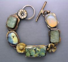 Temi Kucinski - Opals and Aquamarines - silver, gold