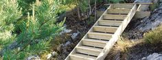 Bilderesultat for terrasse trapp vinkel Garden Stairs, Wood Stairs, Simple, House, Inspiration, Outdoors, Ideas, Patio, Summer