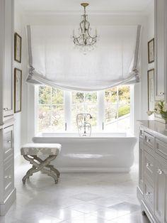 Clean & Light Beautiful Bathroom | Chenault James Interiors