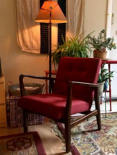 Perfect chair for the small living room