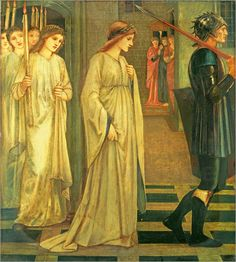 The Princess Sabra led to the Dragon by Edward Byrne-Jones