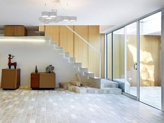 Instagram Stairs Architecture, London Architecture, Architecture Design, Green Building, Building A House, Decoration Entree, Roof Covering, Dining Lighting, London House