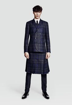 Tiger of Sweden x The London Cloth Company SS14 Tartan Collection.  Yes, please!