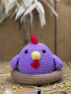 Patrón de ganchillo - Piki la gallina