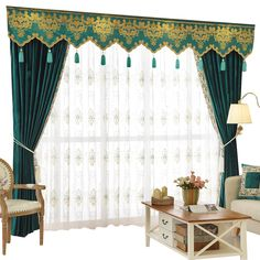 New arrival Twynam Blue and Green Plain Waterfall and Swag Valance and Sheers Custom Made Chenille Velvet Curtains Pair For Living Room- - Custom Curtains Drapes Draperies Sheers Rods and Tracks Walk In Tub Shower, Walk In Tubs, Velvet Curtains, Drapes Curtains, Drapery, Waterfall Valance, Custom Curtains, Curtain Designs, Custom Made