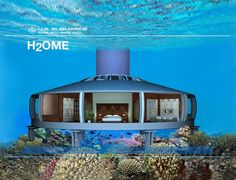 A home underwater..interesting!