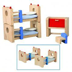 A brincadeira vai ficar ainda mais completa com esses mini móveis para quarto de criança, um charme, com design…