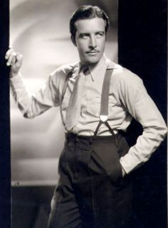 Extremely handsome leading man of the early 1930's, JOHN BOLES.