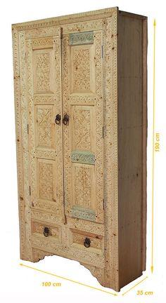 90x55 Cm Antik Look Orient Massivholz Orientalisch Von KabulGallery