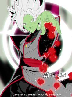 Zamasu fusion Black Goku, Dragon Ball Z, Zamasu Fusion, Merged Zamasu, Zamasu Black, Goku Wallpaper, Manga, Cartoon Art, Cute Art