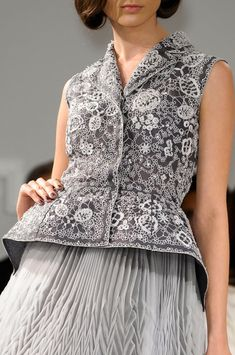Christian Dior Spring 2012 Detail