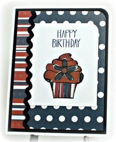 "Simply Elegant Paper Crafts blog; Neat and Tangled ""Sketchy Cupcakes"" stamp set"