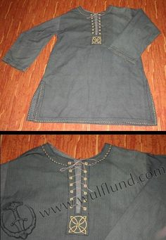 CELTIC TUNIC - CLOTHING - WEAR - DRESS - GAUL - IRON AGE @Bonnie Chen This is yours