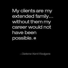 Amen! I know our stylists feel this way. Even the wild clients are like our crazy aunts. #visagemoments #quoteoftheday #qotd #hairdresserslife