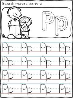 Preschool Curriculum, Kindergarten Writing, Preschool Worksheets, Preschool Activities, Letter Tracing Worksheets, Printable Alphabet Letters, Letter Activities, Alphabet Writing Practice, Writing Skills