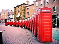 """""""Out of Order"""" installation in Kingston upon Thames, UK"""