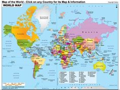 a website where you can find maps of every country with additional information click on
