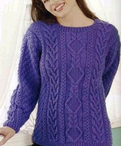 32 (469x570, 312Kb) Cable Knitting Patterns, Knitting Stitches, Free Knitting, Stitch Patterns, Knit Crochet, My Style, Sweaters, Clothes, Tops
