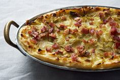 Wouldn't this be good to prepare ahead for Thanksgiving? Potato Mash with Leek Confit and Bacon recipe on Food52.com