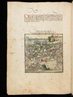 Bremgarten, Stadtarchiv Bremgarten, Bücherarchiv Nr. 2, f. 105v – Werner Schodoler, Eidgenössische Chronik, Vol. 2