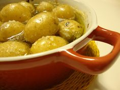 batatas assadas em azeite