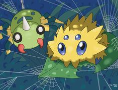 Pokemon Spiders by DragoonForce2 on deviantART